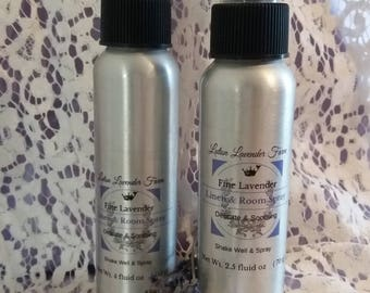 Infused Lavender Bedtime Linen & Room Spray, Dream Spray, Calming Spray