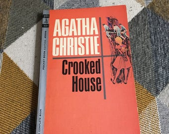 Vintage 1964 Agatha Christie Crooked House Pocket Books