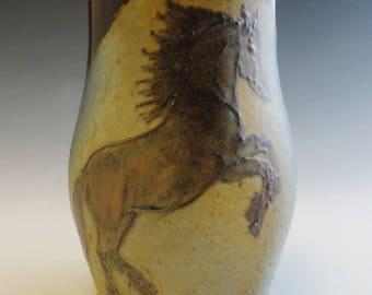 Rearing Friesian Horse Mug