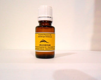 Helichrysum Natural,  Pure Grade, Kosher,  Italicum, Italy,   100% NATURAL PRODUCT