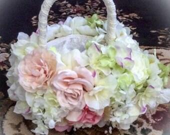 FLOWER GIRL BASKET Wedding accessories Flower girl Baskets