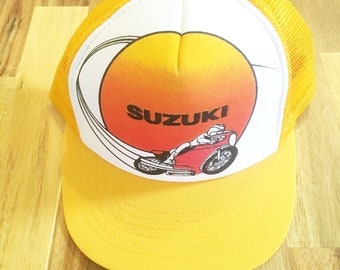 80's Suzuki Motorcycle Hat