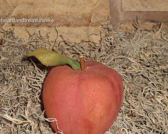 Primitive Apple Bowl Filler ~ Ornie    Lightly Scented