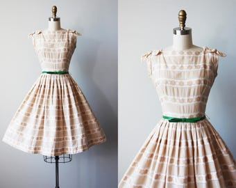 Vintage 50s dress | Etsy