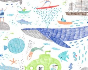 Dear Stella - Pier Pressure Collection - Life of Porpoise in White