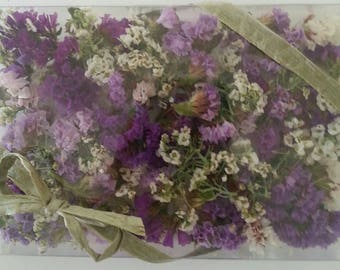 1 Clear Box of Real Dry Flowers, Lavender Confetti, Real Flower, Purple, Wedding, Table  Decorations, Craft Supplies, Lavender,  Flower Girl