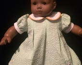 DaisyStripped pleated dress for Bitty Baby