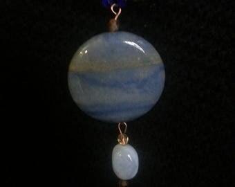 Handmade OOAK #23 beaded necklace