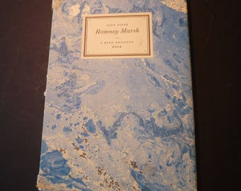 Vintage . Romney Marsh John Piper  .  King Penguin Book 1950 - great collection of art of British scenery Kent and East Sussex watercolors