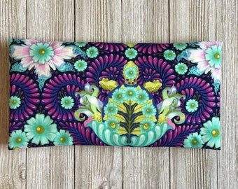 Removable Cover- Organic Lavender and Rice Eye Pillow- Aromatherapy Eye Mask Yoga