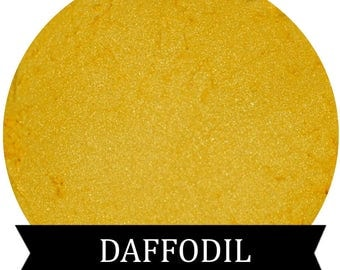 Bright Yellow Eyeshadow  DAFFODIL