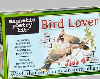 240 word magnets for bird lovers