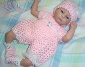 0089 Classic Shells Micro Preemie Pattern,Tiny Romper Pattern,Premature Baby Pattern,Miniature Pattern Set,Reborn Pattern by CarussDesignZ
