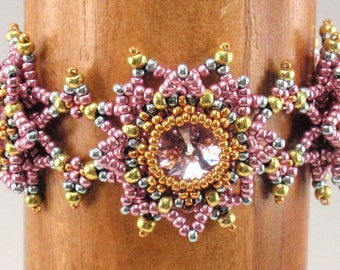 Beading Tutorial for Starburst Bracelet