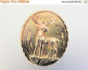 ON SALE Cute Vintage 12K Gp Deer Slide