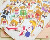 Sailor Moon Kamio Cartoon Sticker Flakes
