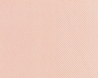 Fabric 25% off SALE LITTLE RUBY fabric Moda Bonnie & Camille coral diagonal scallops Sundae bias patchwork maker quilting sewing 1 yard 5513