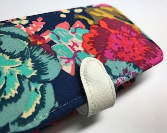 galaxy note 8 wallet case galaxy note 8 case galaxy note 8 phone wallet case Vintage Floral