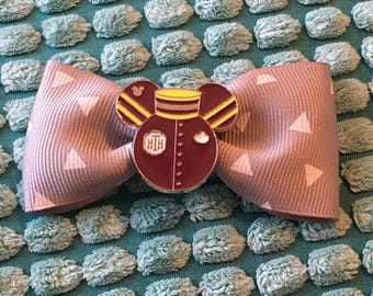 Disney's Hollywood Tower Hotel costume mickey ears hair bow clip - Tower of Terror - Hollywood Studios - Disney World