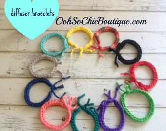 Adjustable Diffuser Bracelet, Aromatherapy Bracelet, Essential Oil Bracelet, BUY 4 GET 1 FREE, Bracelets for kids, Summer Beach Bracelets