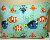 "RESERVED For LAURELIN S. / Travel Pillowcase / 12"" X 16""  Pillowcase / Finding DORY"