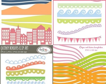 50%OFF Digital borders clip art, digital borders, trims clip art, decorative border clipart, digital border clipart bundle, B326