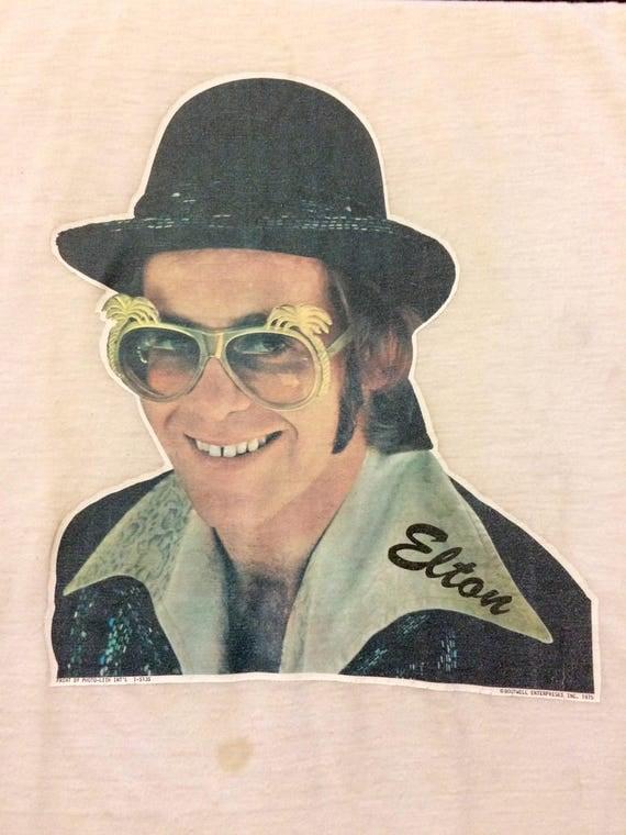 1975 Elton John Graphic Tee