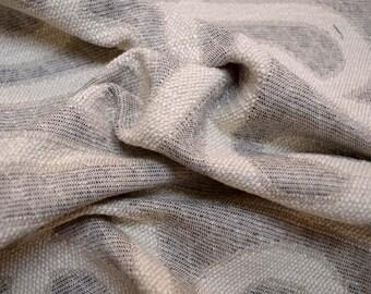 Grey Geometric Fabric