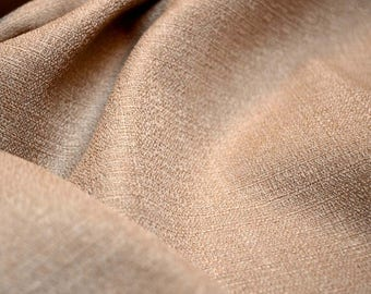 Tan Textured Upholstery Fabric