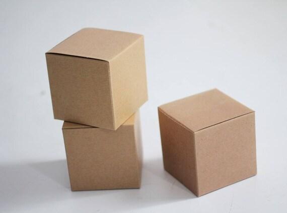 Kraft Gift Boxes 5x5x5 lot of 150