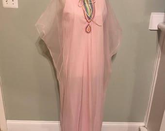 Vintage Nylon Night Gown/Lounge wear
