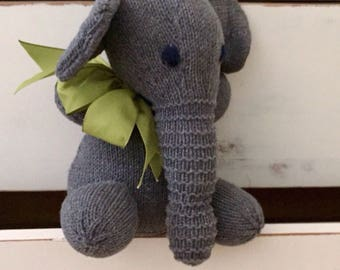 E is for Elephant - Stuffed Toy