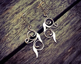 Art Nouveau Dangle Earrings