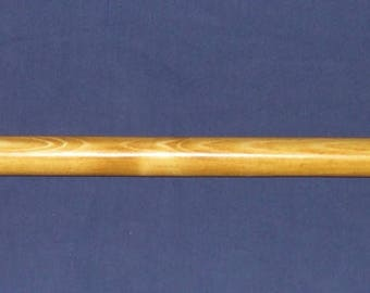 60in (5ft)  Rustic Log Curtain Rod