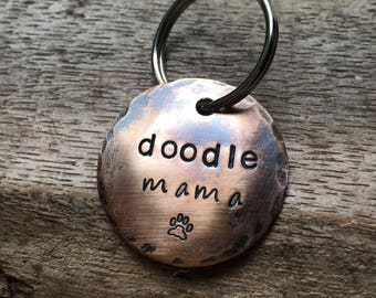 Custom Breed Keychain - Doodle Mama ... a perfect gift for Doodle lovers (or customize with your breed)