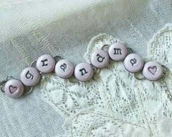 Grandma, chain bracelet