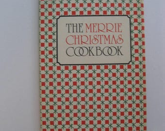Merrie Christmas Cookbook by Peter Pauper Press