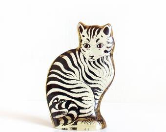 Vintage Palatnik Lucite Cat