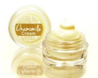 Face Cream Sample with Chamomile, Natural Face Cream, Dry Skin Cream, Chamomile Cream, Day Cream, Facial Cream, Sensitive Skin, Moisturizer