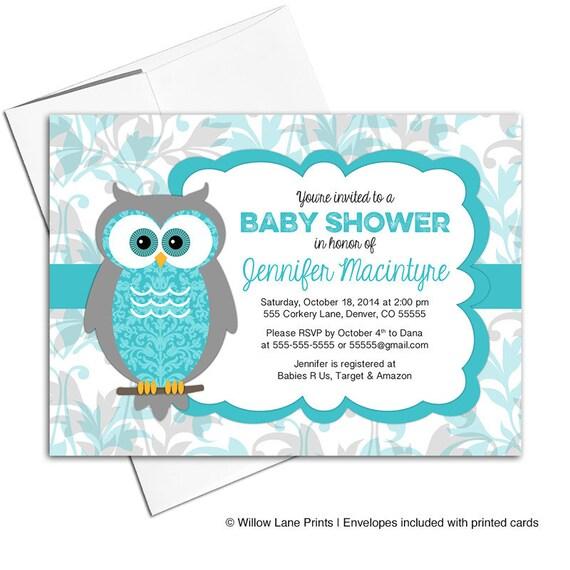 Owl baby shower invitation gender neutral woodland baby shower il570xn filmwisefo