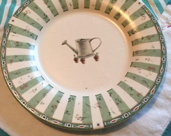 Vintage Pfaltzgraff Salad Plate Portfolio Naturewood Made in The USA #4245