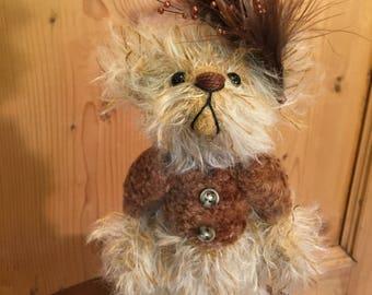 Amber: a handmade artist teddy bear from Jazzbears