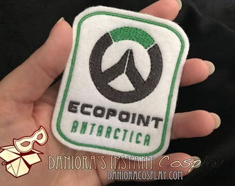 Overwatch Inspired Ecopoint Antarctica sew on/glue on patch