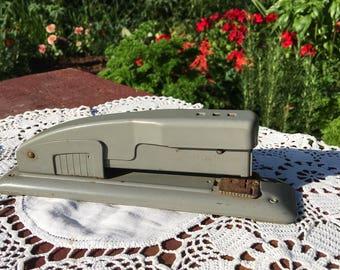Vintage Swingline Stapler / Industrial Stapler / Vintage Stapler / Art Deco Stapler / Antique Desk Decor / Antique Stapler