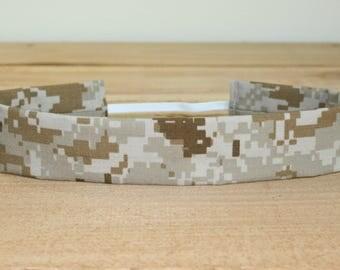 MARPAT USMC Adult Headband Military Camo