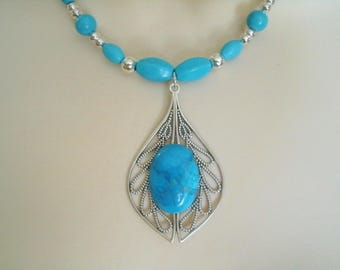 Turquoise Necklace, southwestern jewelry southwest jewelry turquoise jewelry native american jewelry style country western boho bohemian