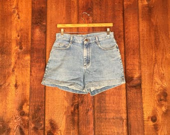 Vintage High Waisted Lee Jean Shorts • Denim Shorts