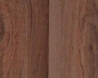 Faux Bois Plank Mahogany