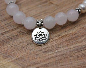 Lotus Fertility Bracelet