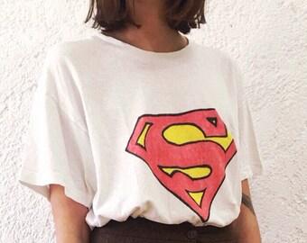 Superman custom made tshirt